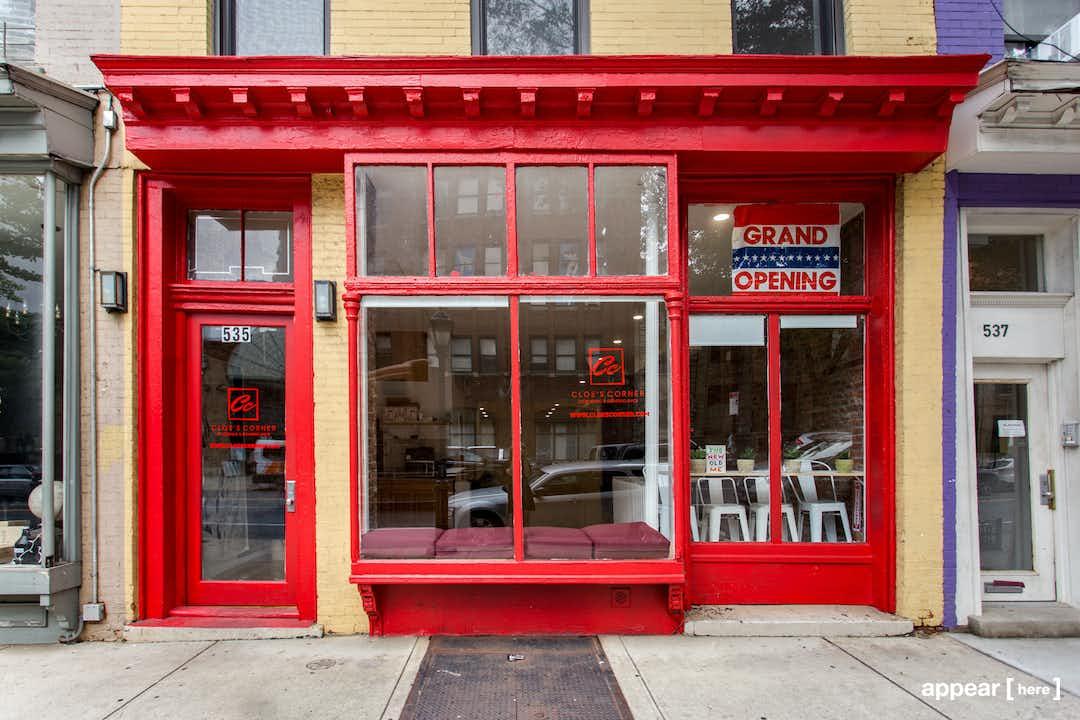 Boerum Hill - Atlantic Avenue's Red Pop Up