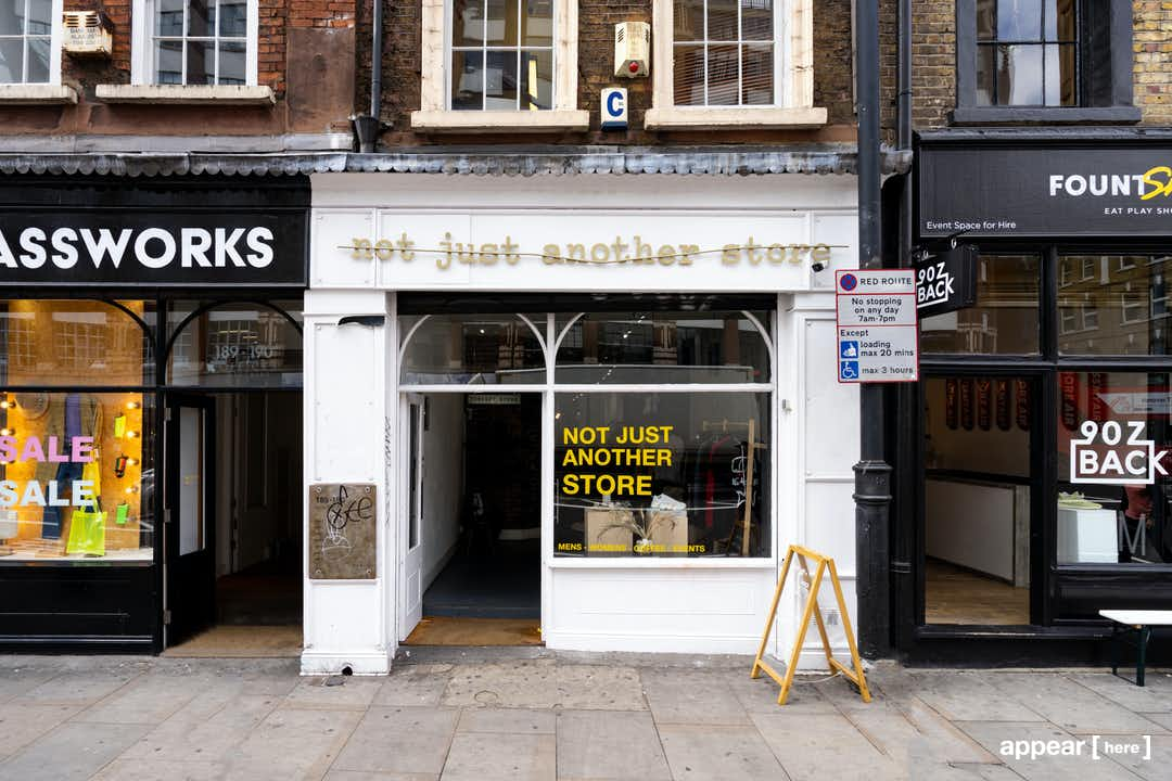 The Yellow Shop, Shoreditch High Street