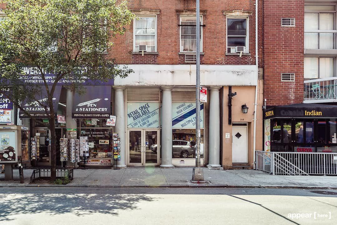 144 Bleecker street, New York, NY