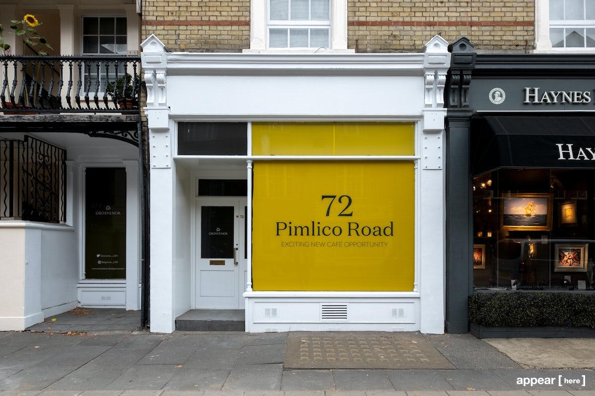 Pimlico Road, Sloane Square - The White Store