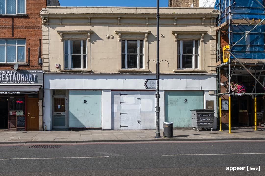 Stoke Newington High Street, Hackney - The New Beginning Space