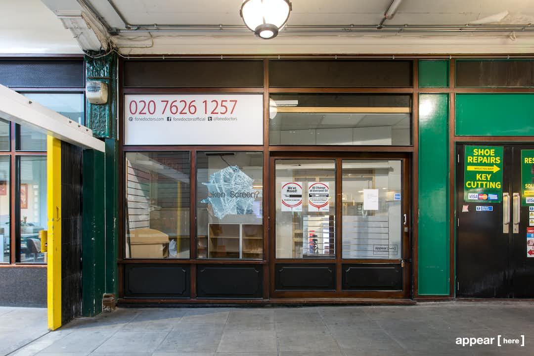 Unit 13, Liverpool Street Arcade, London