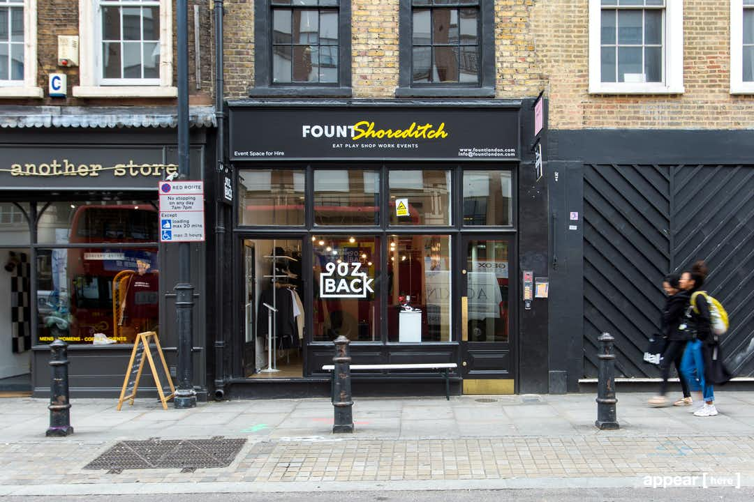 Shoreditch High Street – Gallery-Style Store