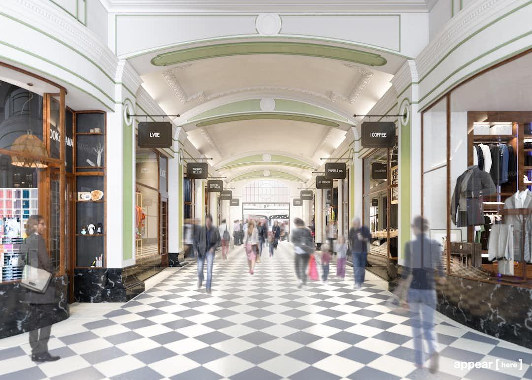 Victoria Arcade, London