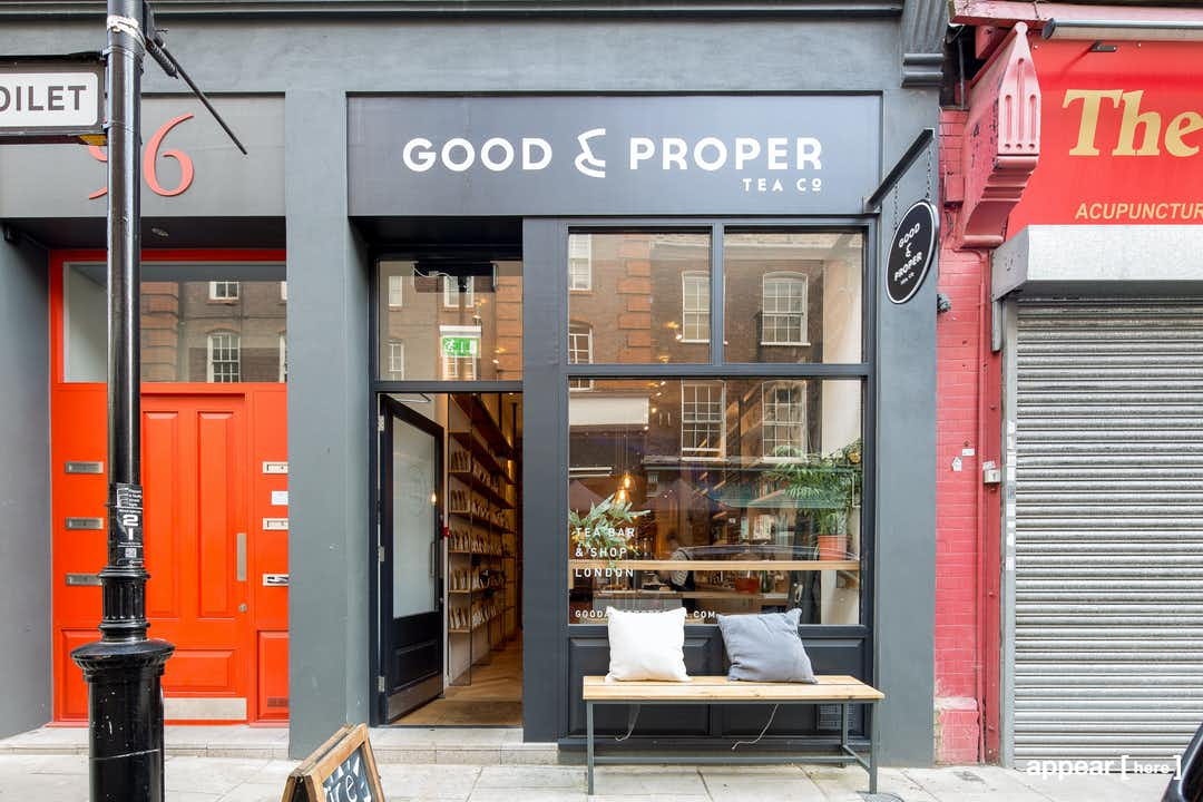 Leather Lane, Farringdon - The Wooden F&B Space
