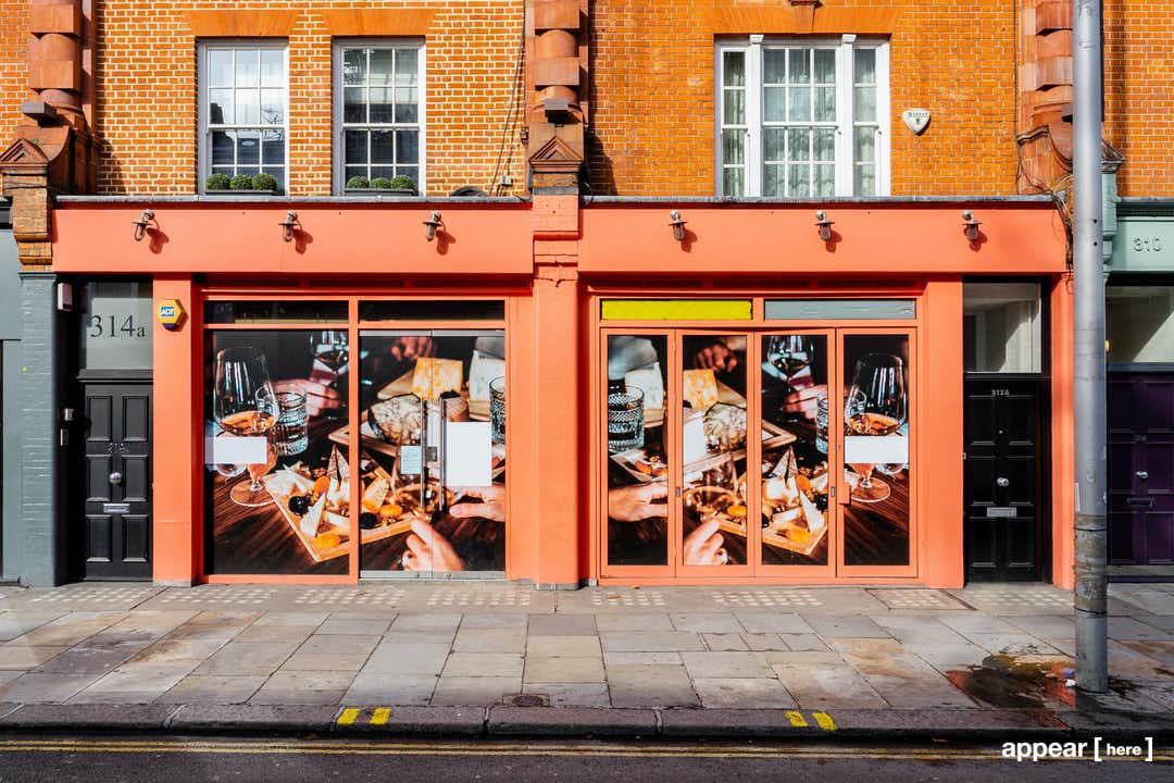 King's Road, Chelsea - The Exposed Brick Space
