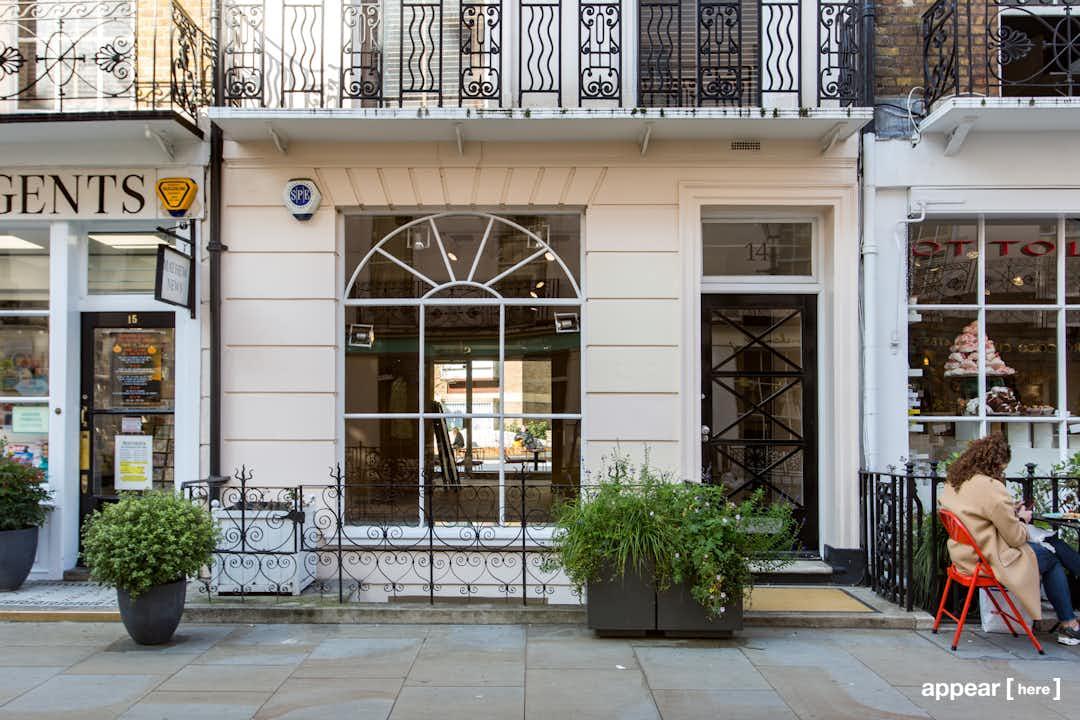 14 Motcomb Street, London