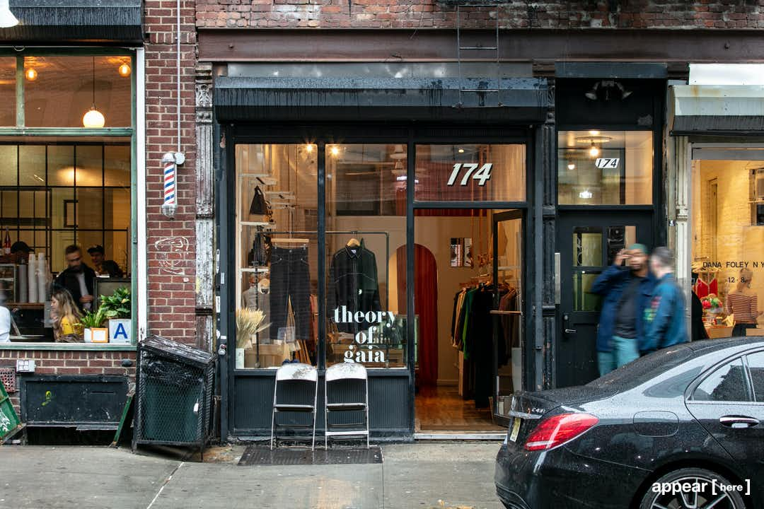 Ludlow Street , Lower East Side - The Black and White Shop Share