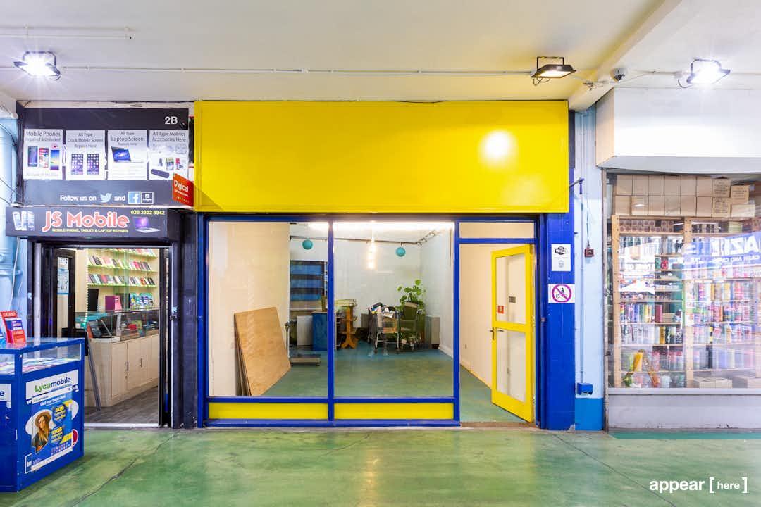 Market Row, Brixton  - The Blue Floored Boutique