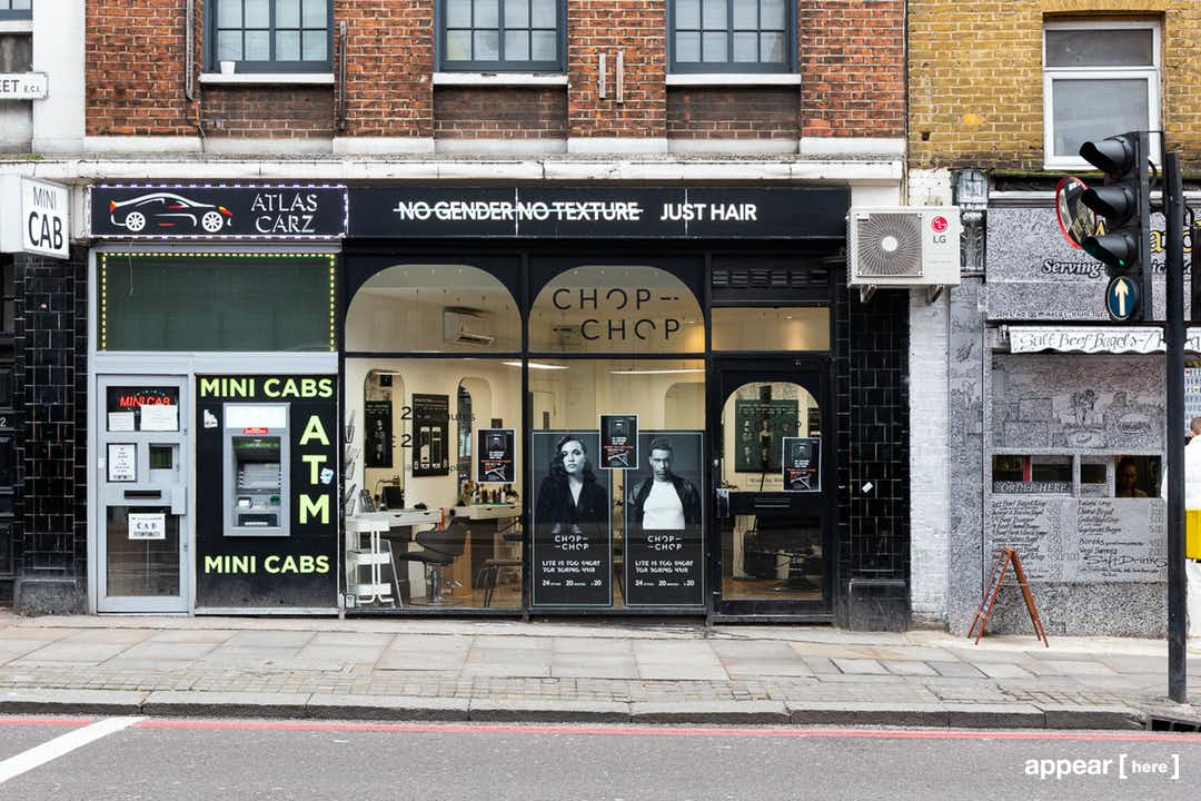 Old Street, Shoreditch - The Black-Tiled Boutique