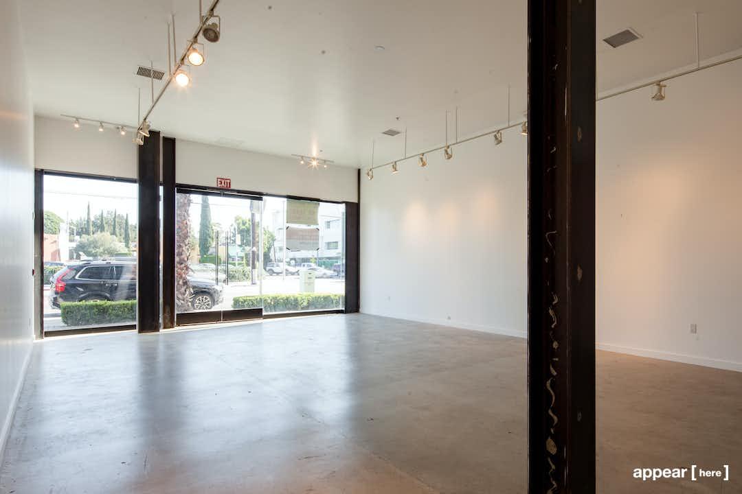 La Cienega, West Hollywood - The Black Storefront