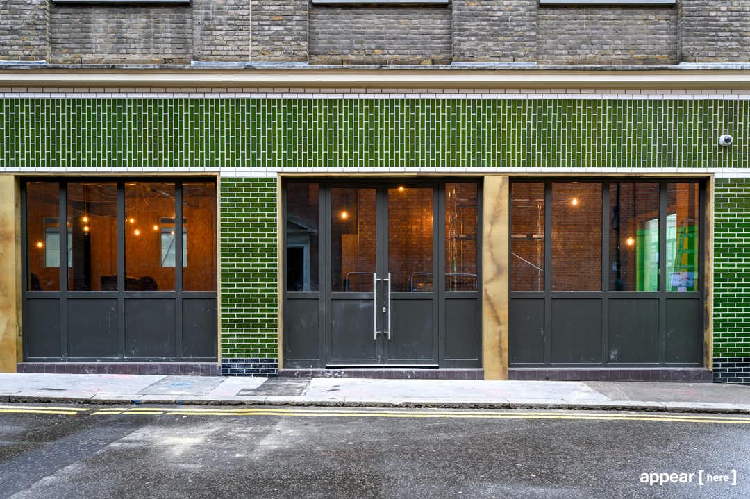 Soho Square, Soho – The Green-Tiled Event Space
