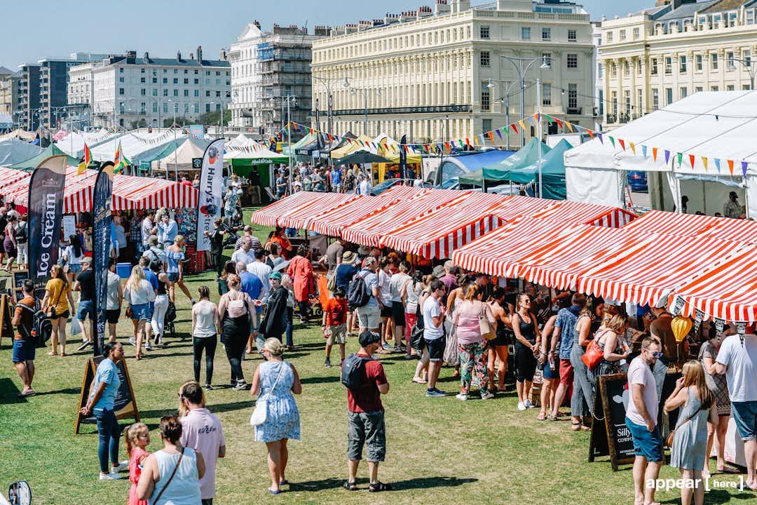 Edinburgh Foodie Festival - Market Stall