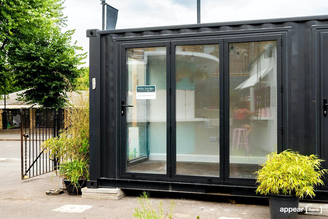 Netil Market – White-Boxed Shipping Container