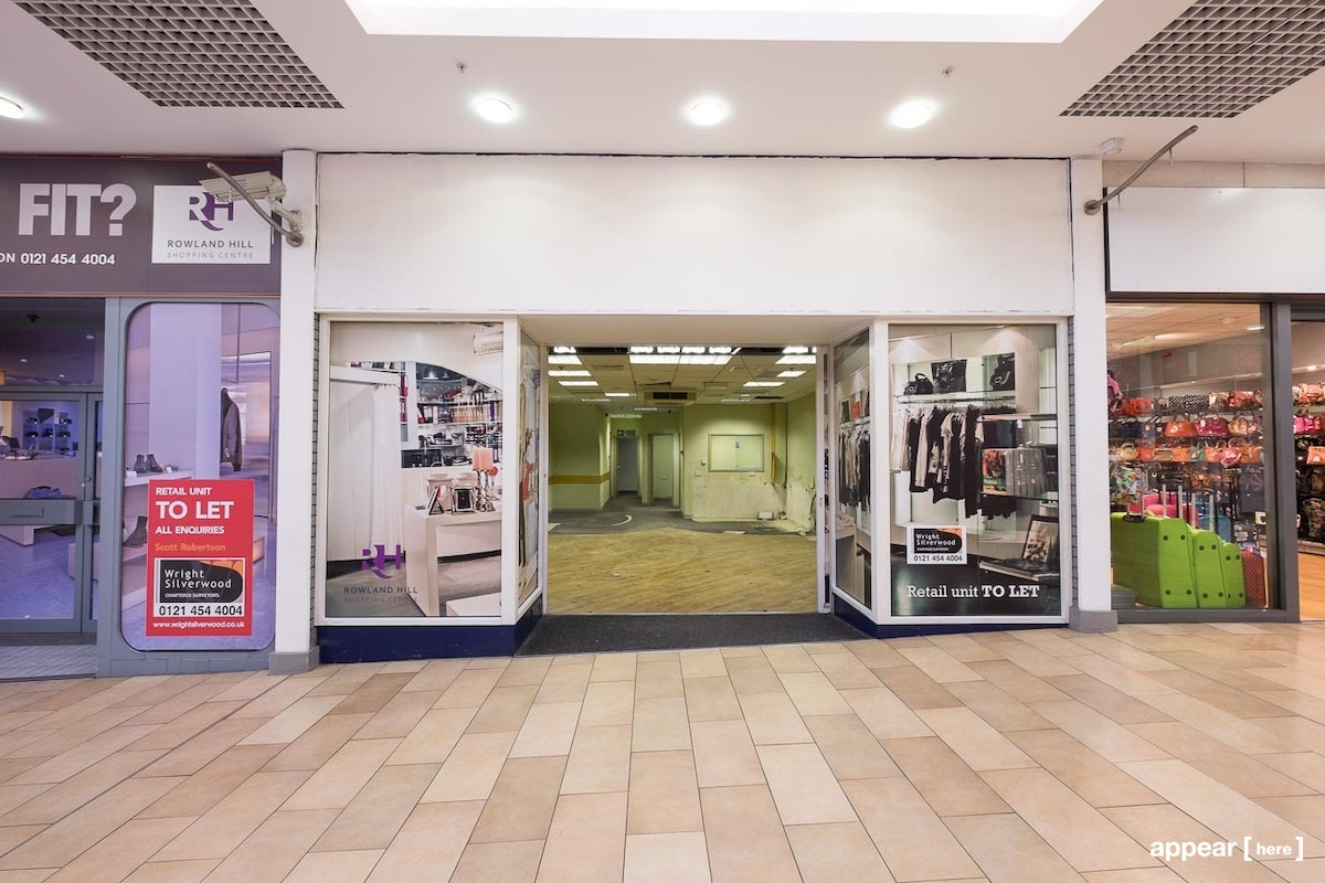 Rowland Hill Shopping Centre - Unit 9