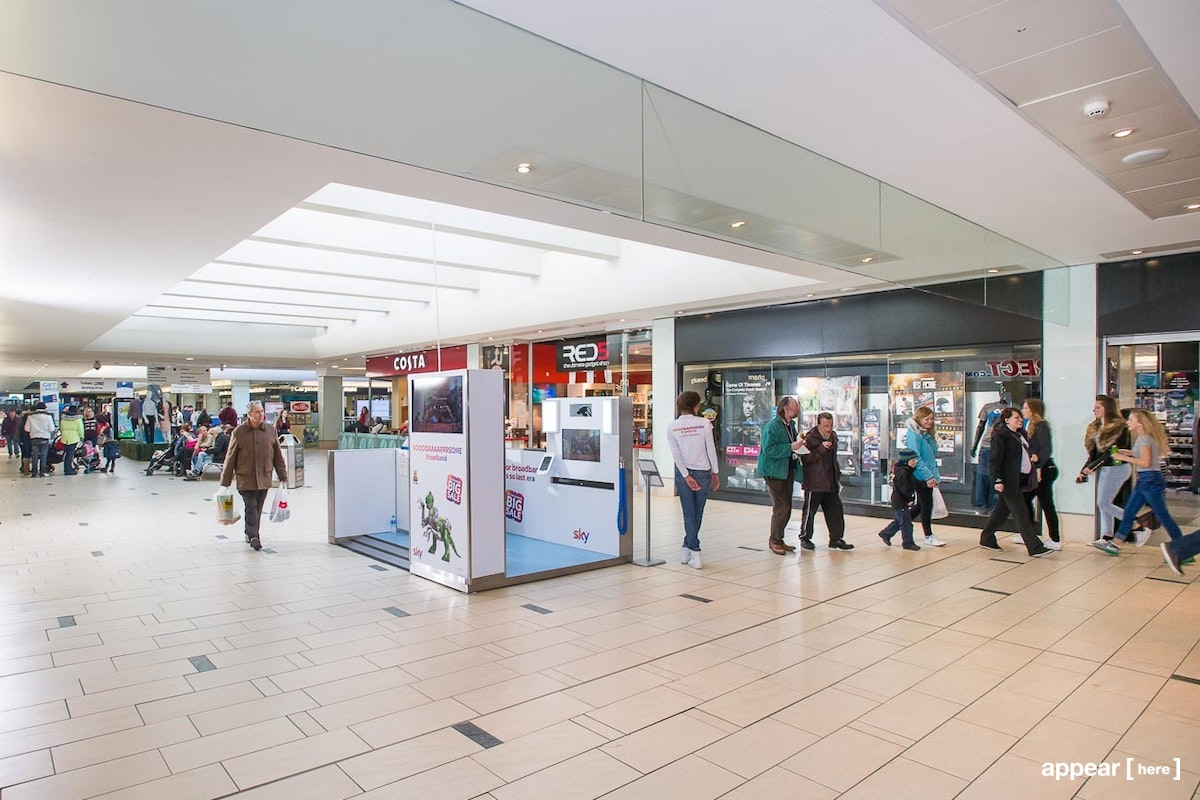 Frenchgate Centre - Promotion Space 7 First Floor P7